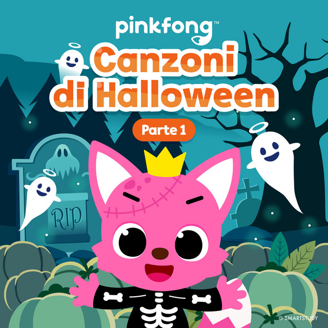Album cover for Canzoni Di Halloween (Parte 1) by Pinkfong