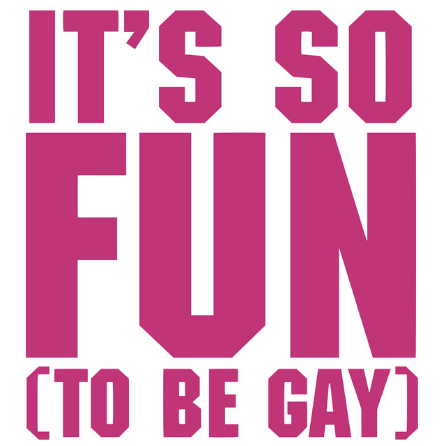It's So Fun (To Be Gay) album cover