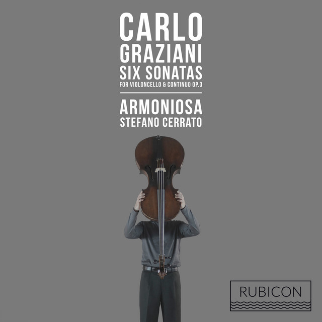 Graziani: 6 Sonatas for Violoncello & Continuo, Op. 3