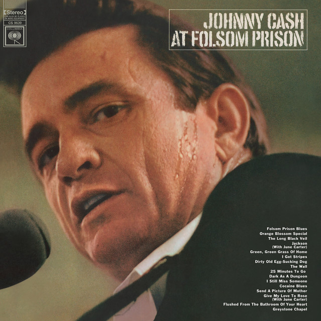 Folsom Prison Blues album cover