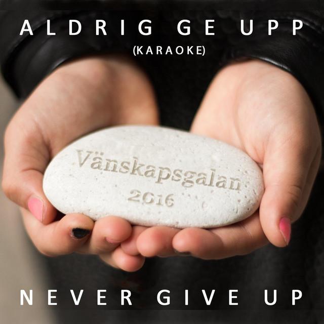 Aldrig Ge Upp - Never Give Up (Karaoke)