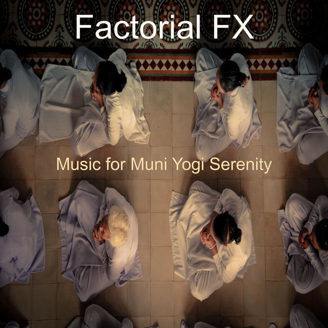 Album cover for Music for Muni Yogi Serenity by Factorial FX
