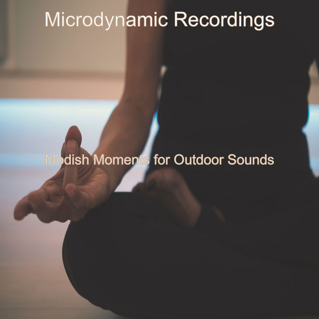 Album cover for Modish Moments for Outdoor Sounds by Microdynamic Recordings