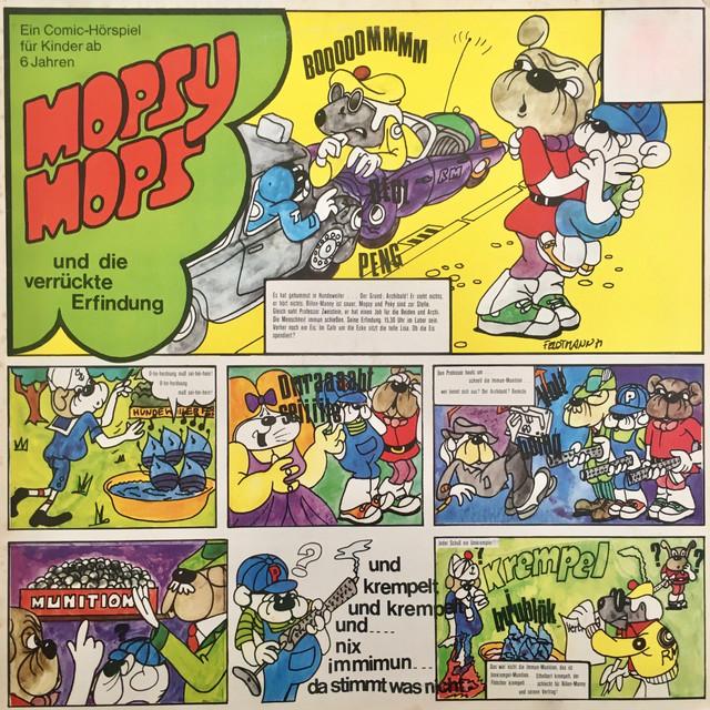 Folge 3: Mopsy Mops und die verrückte Erfindung Cover
