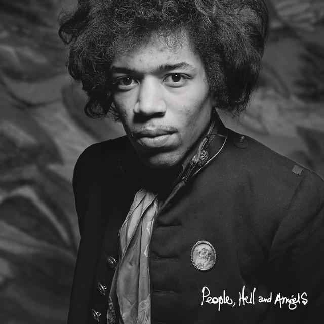 Album cover art: Jimi Hendrix - People, Hell & Angels