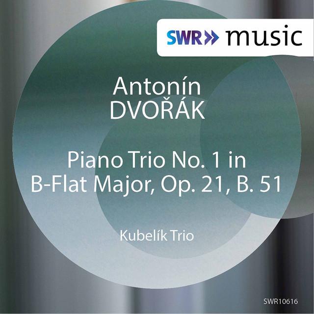 Album cover for Dvořák: Piano Trio No. 1 in B-Flat Major, Op. 21, B. 51 (Live) by Antonín Dvořák, Kubelik Trio