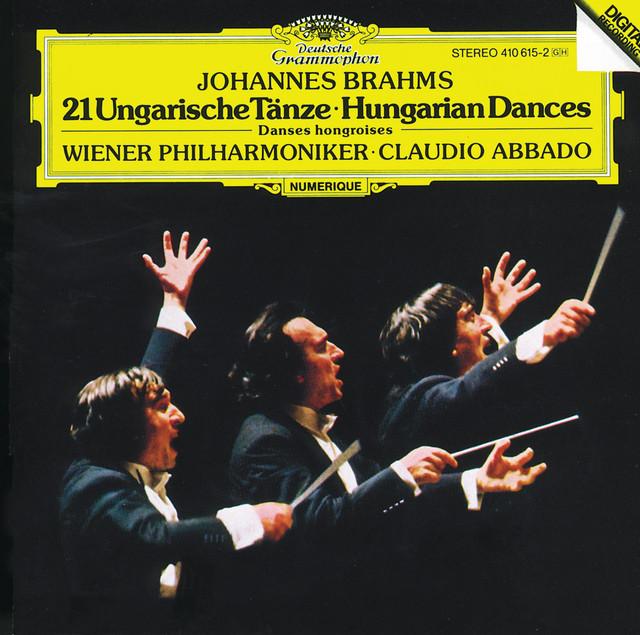 Hungarian Dance No. 17 in F-sharp m album cover