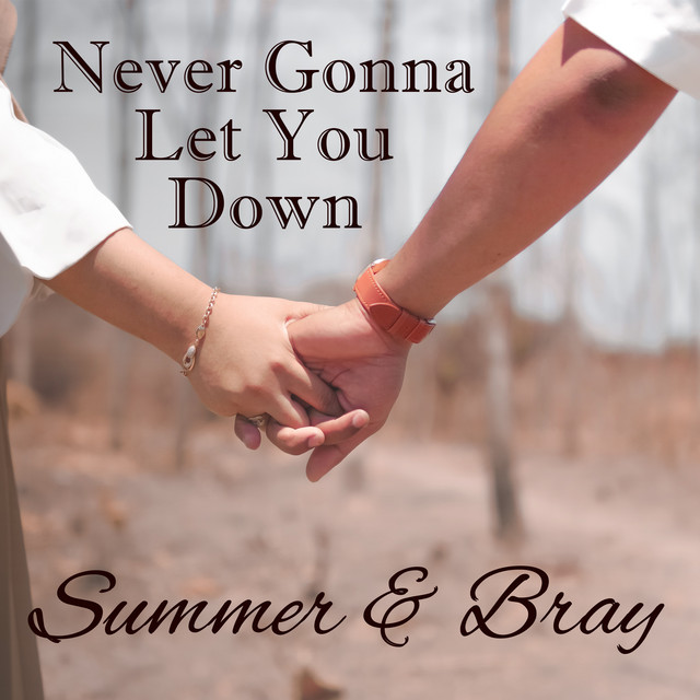 Never Gonna Let You Down album cover