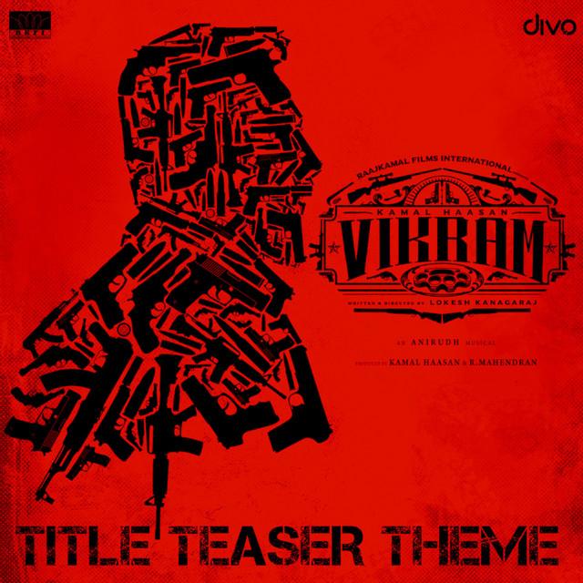 """Vikram (Title Teaser Theme) (From """"Vikram"""")"""