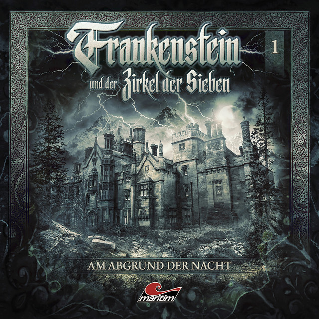 Frankenstein und der Zirkel der Sieben Cover