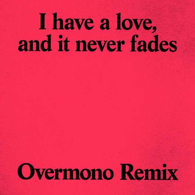 I Have a Love (Overmono Remix)