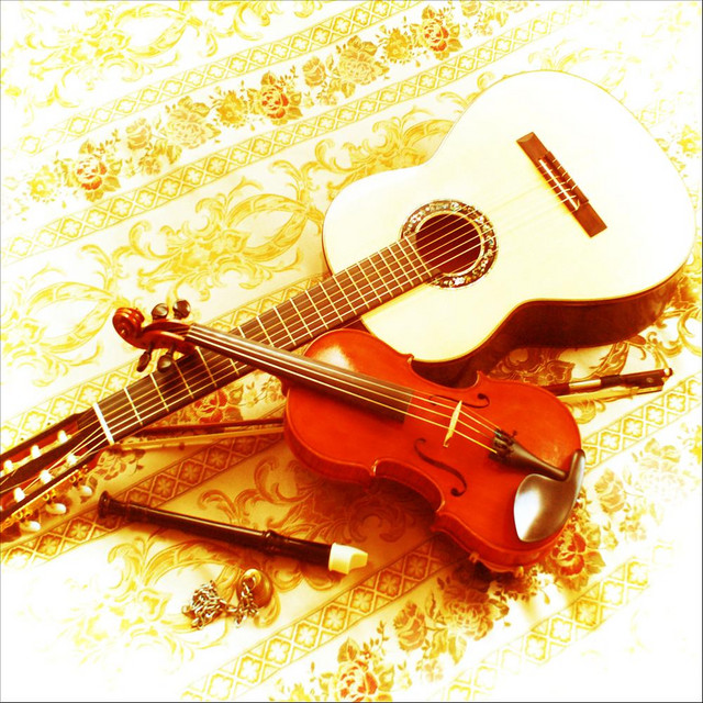 Violin And Classical Guitar Wedding Ceremony Music In