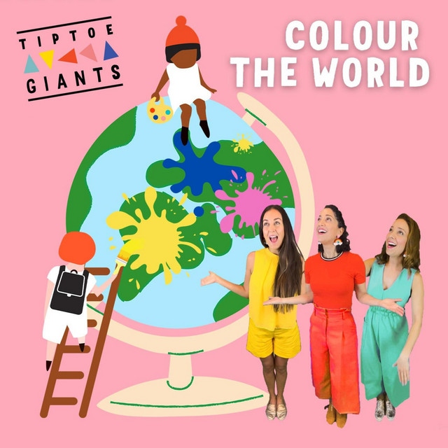 Colour the World by Tiptoe Giants