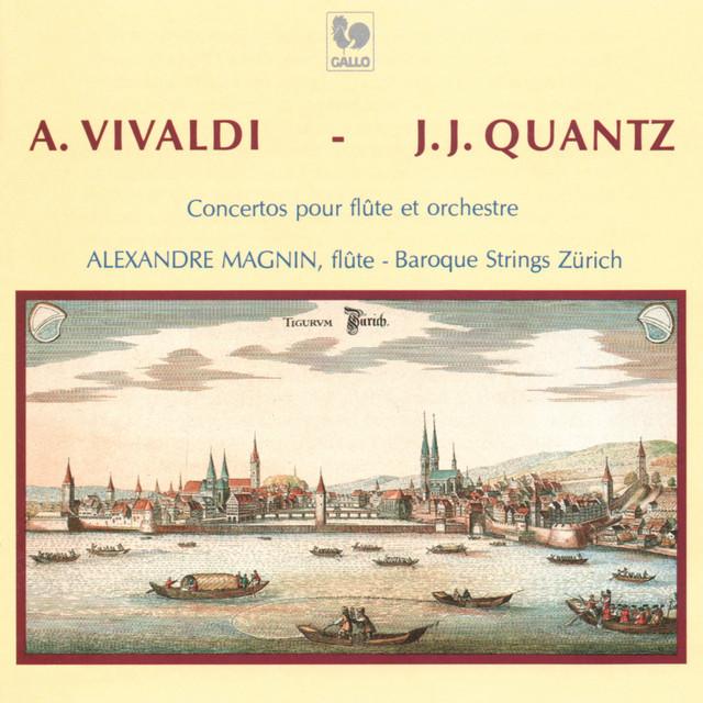"""Vivaldi: Flute Concerto Op. 10, No. 3, RV 428, """"Il gardellino"""" & Op. 10, No. 2, RV 439, """"La notte"""" - Quantz: Flute Concerto in G Major, QV 5:174"""