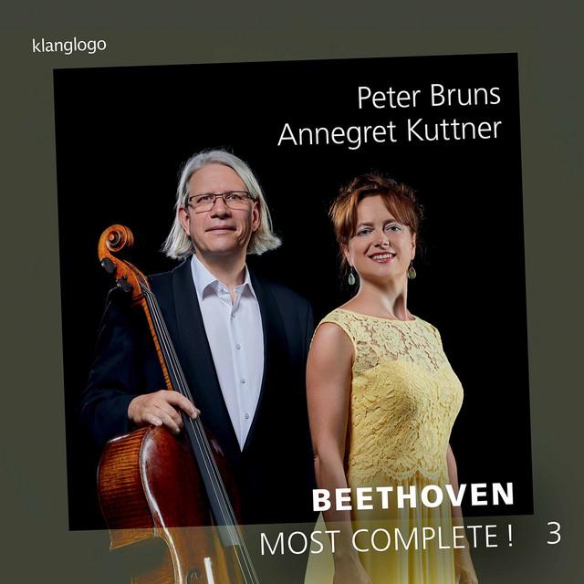 Album cover for Beethoven: Most Complete, Vol. 3 by Ludwig van Beethoven, Peter Bruns, Annegret Kuttner