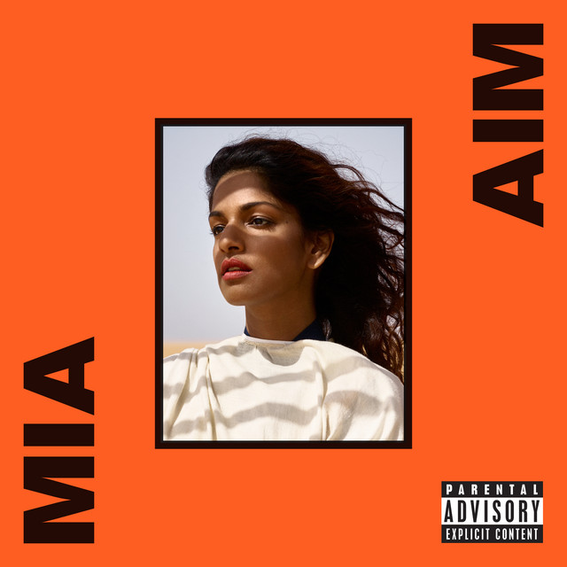 Cover art for Borders by M.I.A.