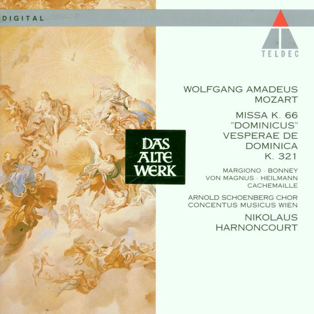 Vesperae, K.321: Laudate Dominum album cover