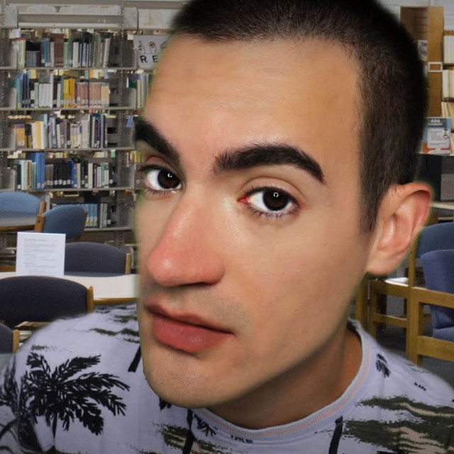 School Tutor Gossips with You at the Library (ASMR RolePlay) Image