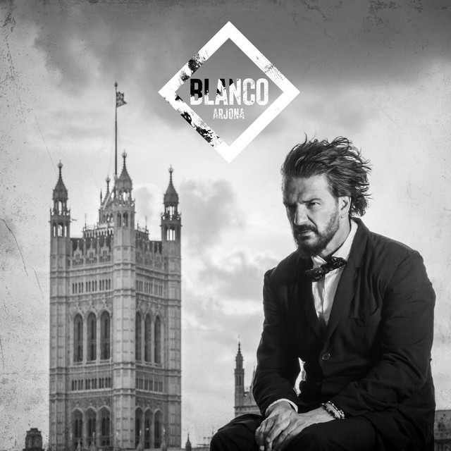 Album cover for Blanco by Ricardo Arjona