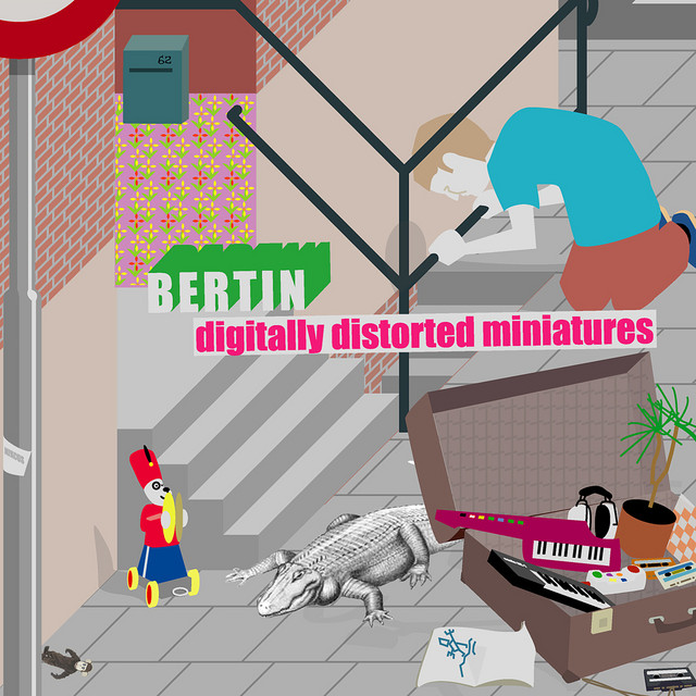 Digitally Distorted Miniatures