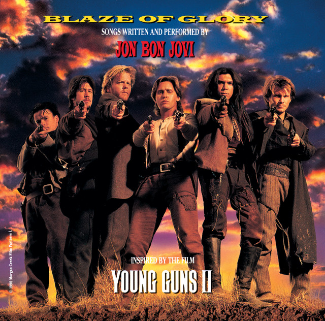 Blaze of Glory album cover