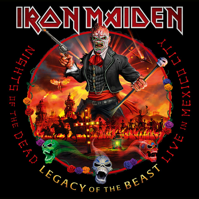 Album cover for Nights of the Dead, Legacy of the Beast: Live in Mexico City by Iron Maiden