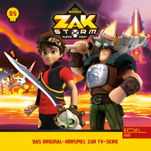 Zak Storm Cover