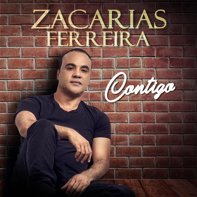 Album cover for Contigo by Zacarias Ferreira