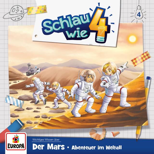004 - Der Mars: Abenteuer im Weltall Cover