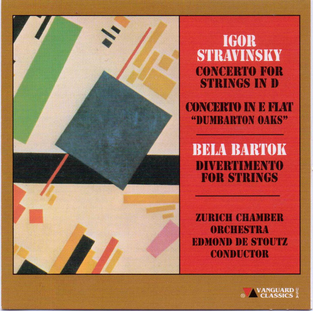 Stravinsky/Bartok - Works For Orchestra
