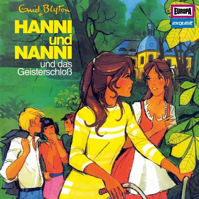 Klassiker 6 - 1974 Hanni und Nanniund das Geisterschloß Cover