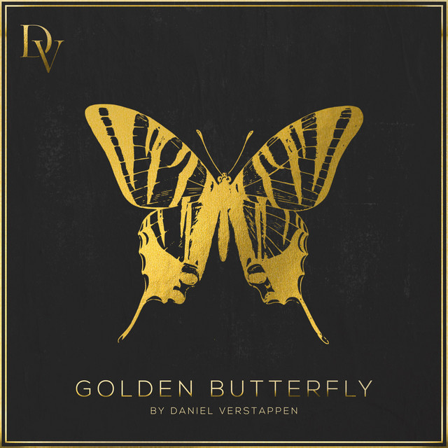 Golden Butterfly Image