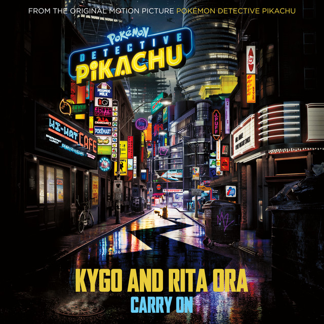 """Kygo Carry On (from the Original Motion Picture """"POKÉMON Detective Pikachu"""") acapella"""