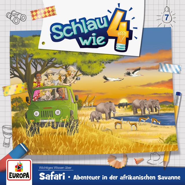 007 - Safari. Abenteuer in der afrikanischen Savanne Cover
