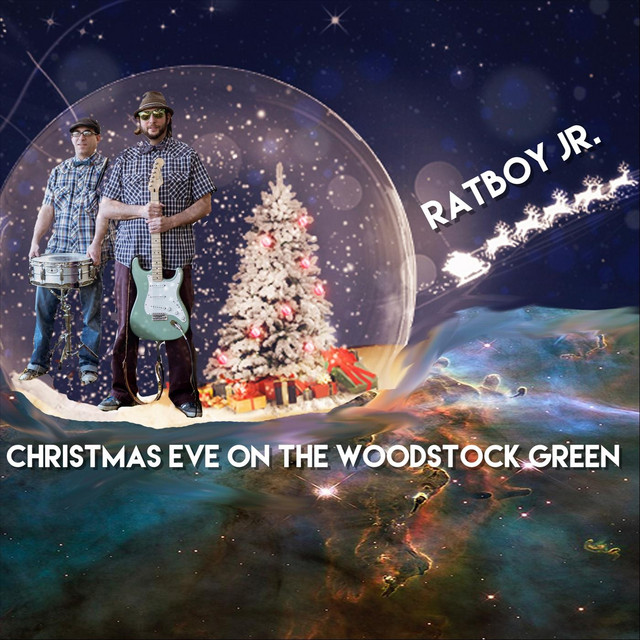 Christmas Eve on the Woodstock Green by Ratboy Jr.