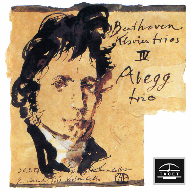 Album cover for Beethoven: Piano Trios by Ludwig van Beethoven, Abegg Trio