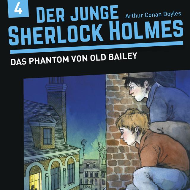 Der junge Sherlock Holmes, Folge 4: Das Phantom von Old Bailey Cover