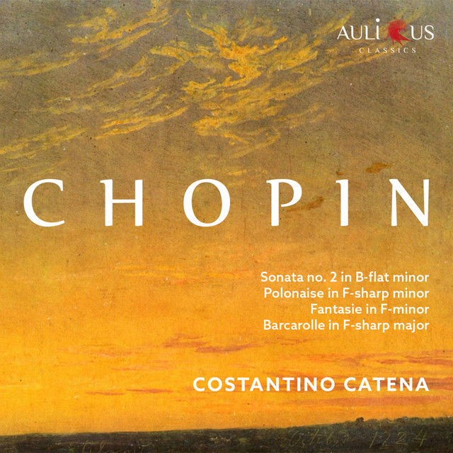 Album cover for Chopin: Sonata No. 2 in B-Flat Minor, Op. 35