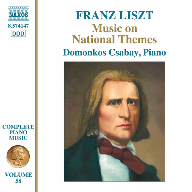 Liszt Complete Piano Music, Vol. 58: Music on National Themes