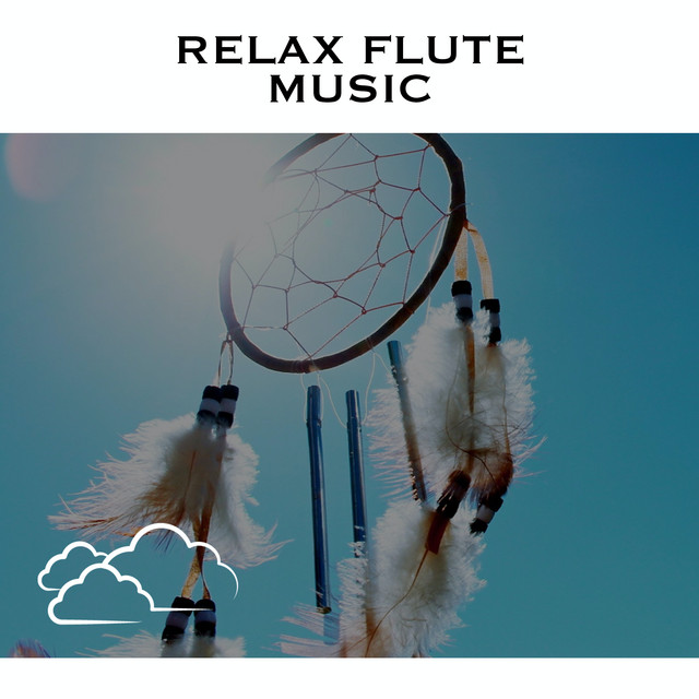 Album cover for Relax Flute Music by Loopable Radiance, Native American Flute