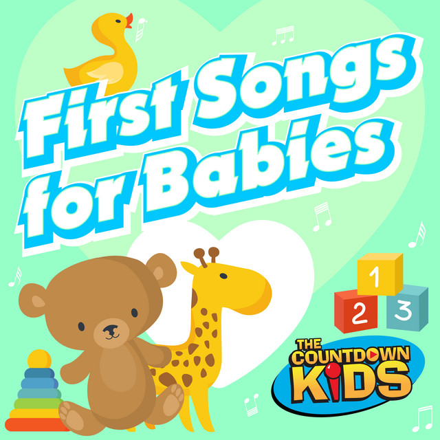 Album cover for First Songs for Babies by The Countdown Kids
