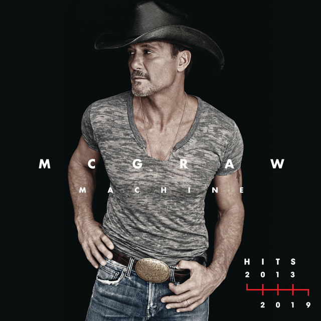 Album cover for McGraw Machine Hits: 2013-2019 by Tim McGraw