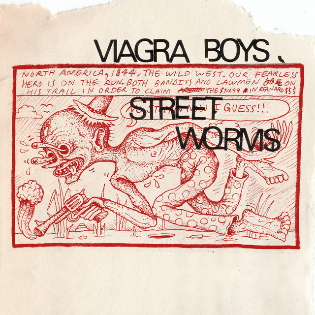 Cover art for Worms by Viagra Boys