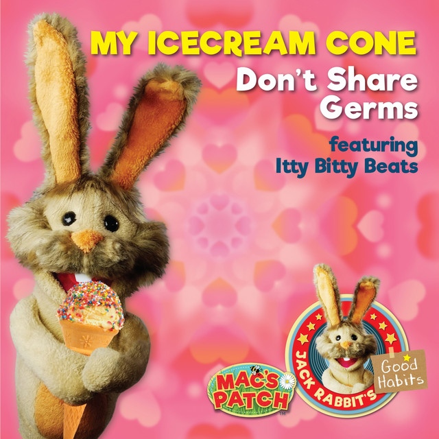 My Ice Cream Cone (Don't Share Germs) by Mac's Patch