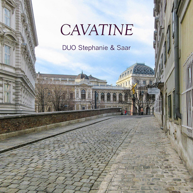 Album cover for Cavatine by Ludwig van Beethoven, Duo Stephanie and Saar