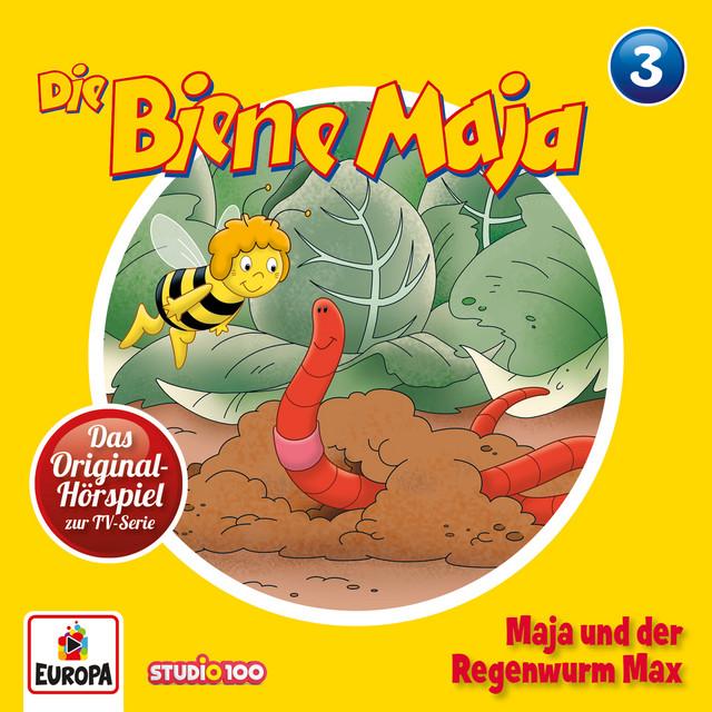 03 - Maja und der Regenwurm Max Cover