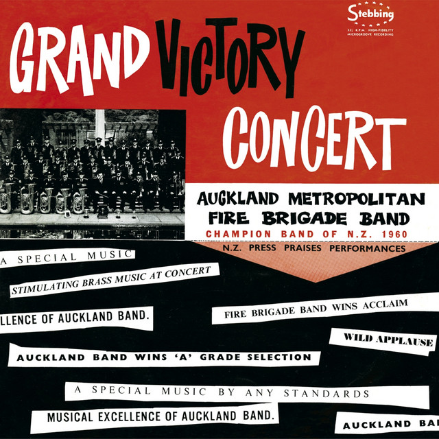 Grand Victory Concert (1960 NZ Brass Band Champions)