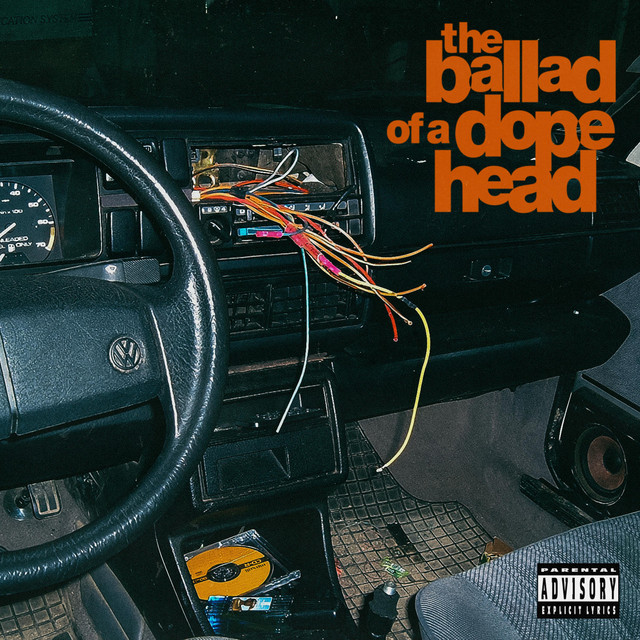 Album cover for The Ballad Of A Dopehead by Jay Worthy, T.F, Budgie