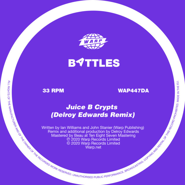 Juice B Crypts (Delroy Edwards Mix)
