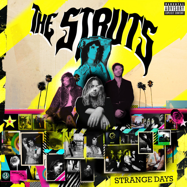 Album cover for Strange Days by The Struts